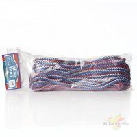 Веревка плетеная с сердечником, 6 мм-20 м