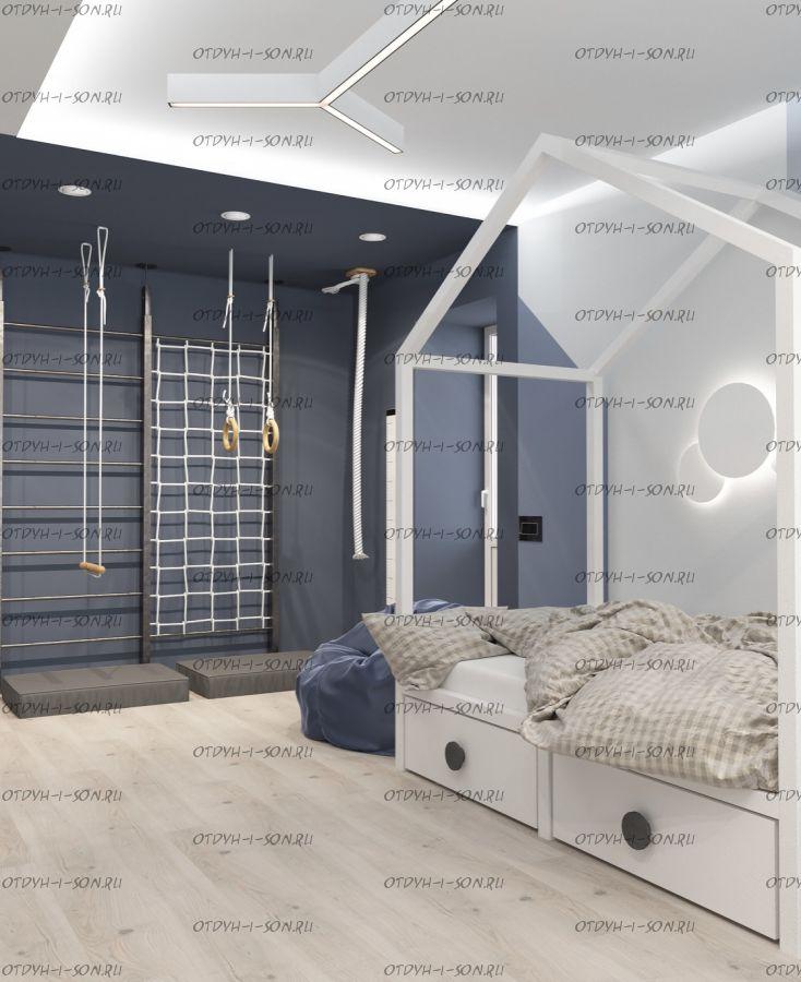 Кровать-Домик Fairy Land Calipso для взрослых