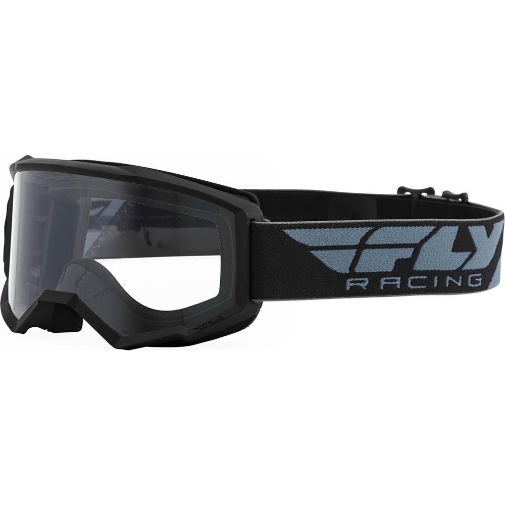 Fly  Racing Focus Black Clear Lens очки для мотокросса
