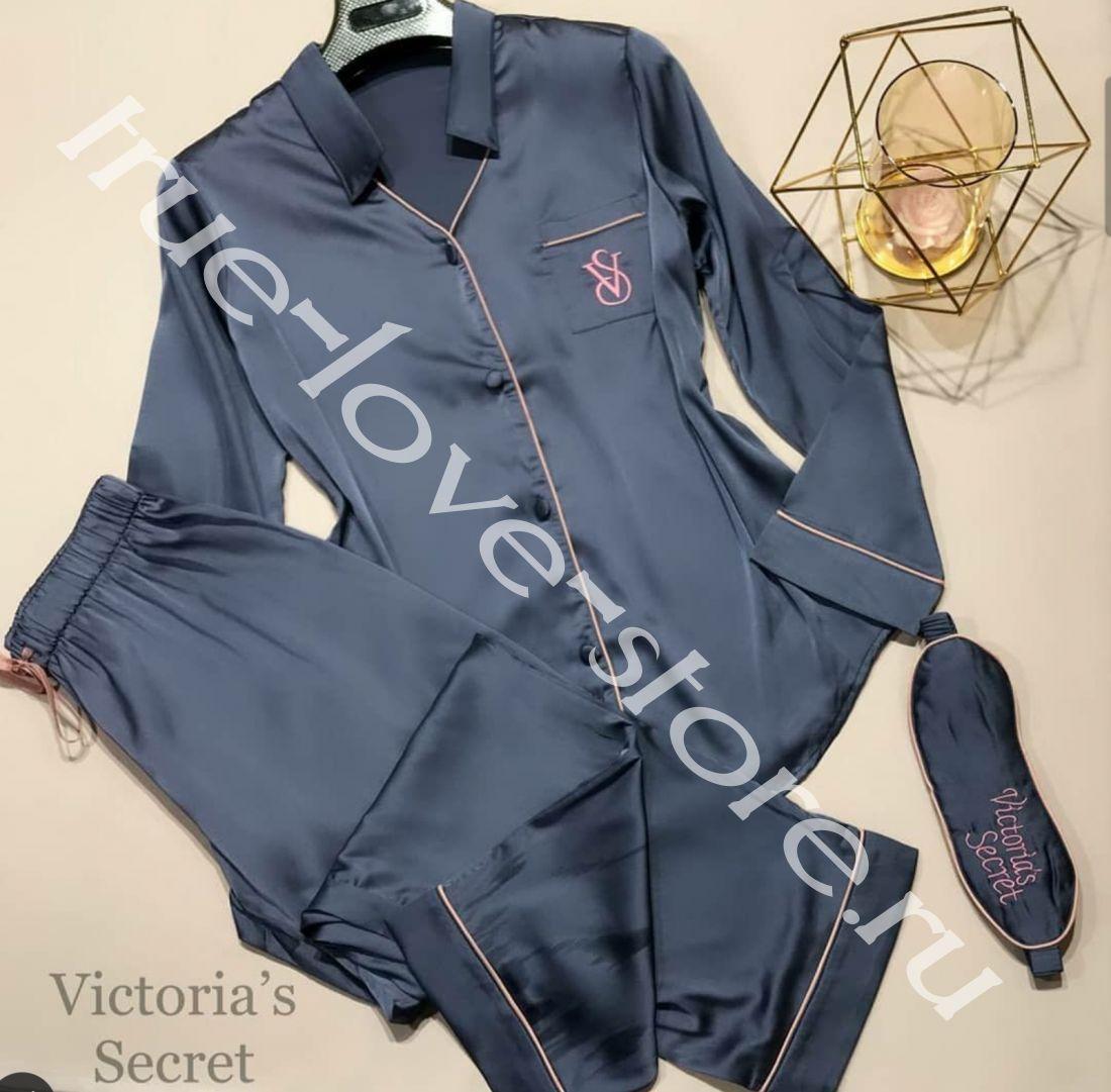 720117-Пижама двойка Victoria'S Secret(+маска для сна)