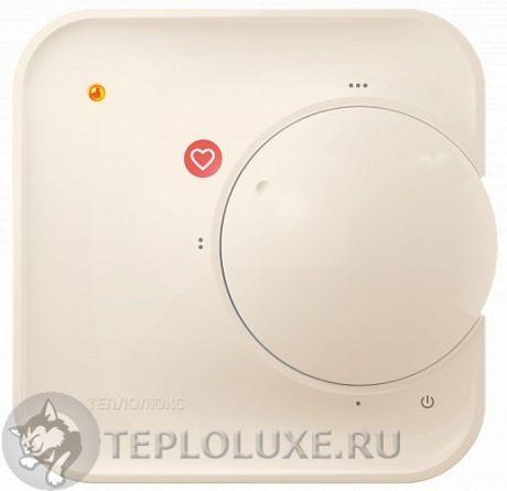 """""""ТЕПЛОЛЮКС"""" 510 Терморегулятор для теплого пола кремовый"""
