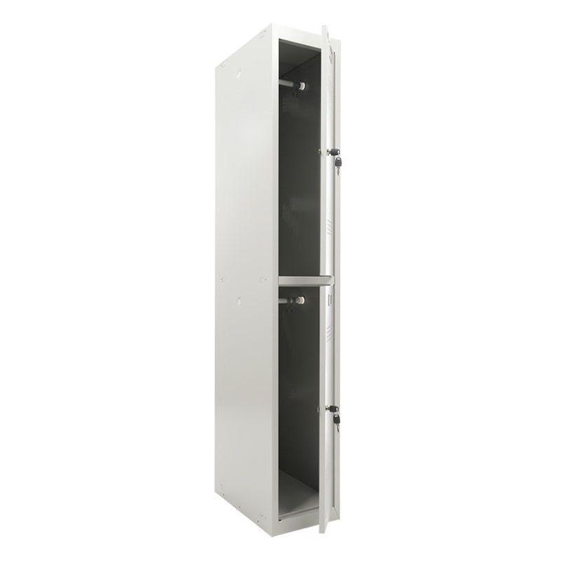 Шкаф для одежды «ПРАКТИК ML 12-30» (усиленный) (базовый модуль)