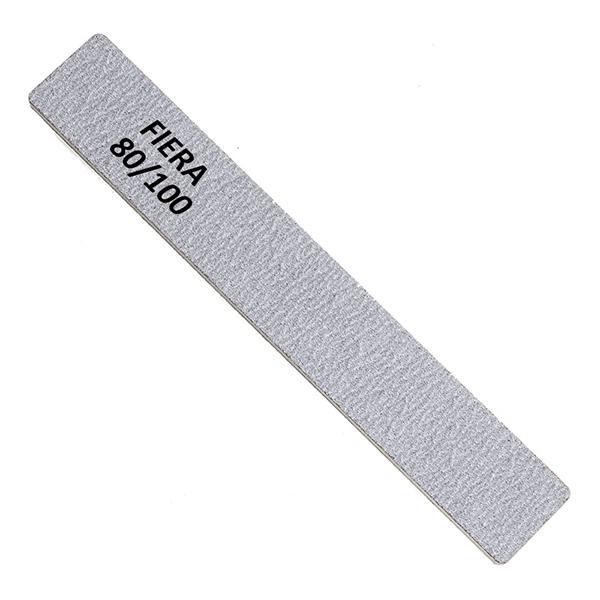 Пилка 80/100 широкая прямая серая FNF-002