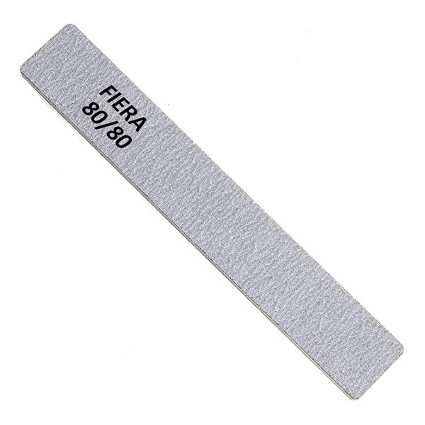 Пилка 80/80 широкая прямая серая FNF-001