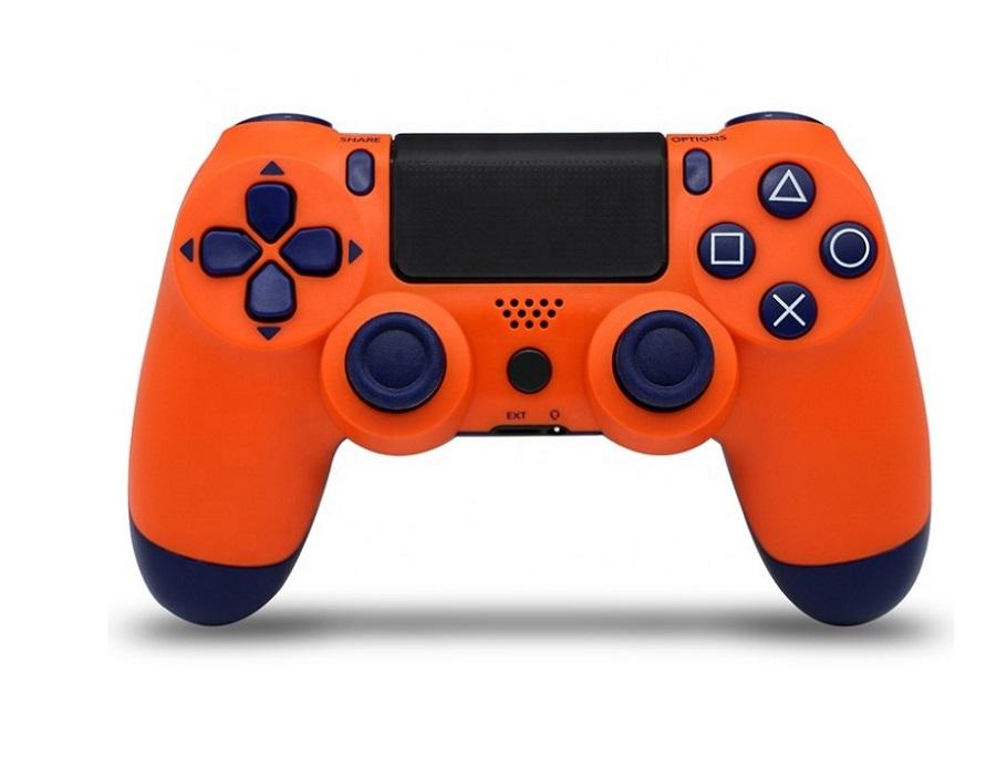 Беспроводной Bluetooth контроллер для Sony Playstation 4 Dualshock Ps4 оранжевый