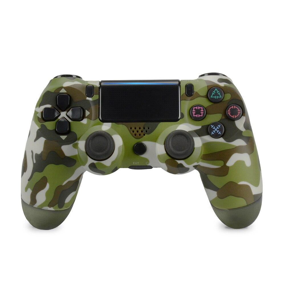 Беспроводной Bluetooth контроллер для Sony Playstation 4 Dualshock Ps4 зеленый камуфляж