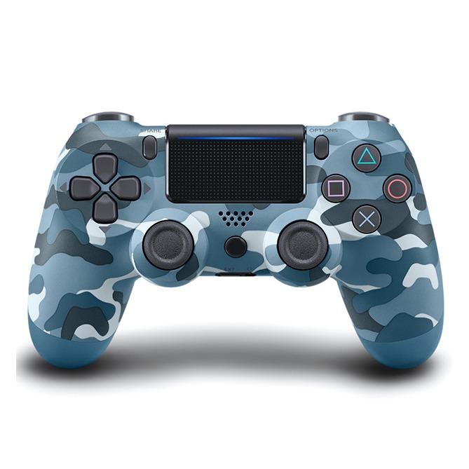 Беспроводной Bluetooth контроллер для Sony Playstation 4 Dualshock Ps4 синий камуфляж