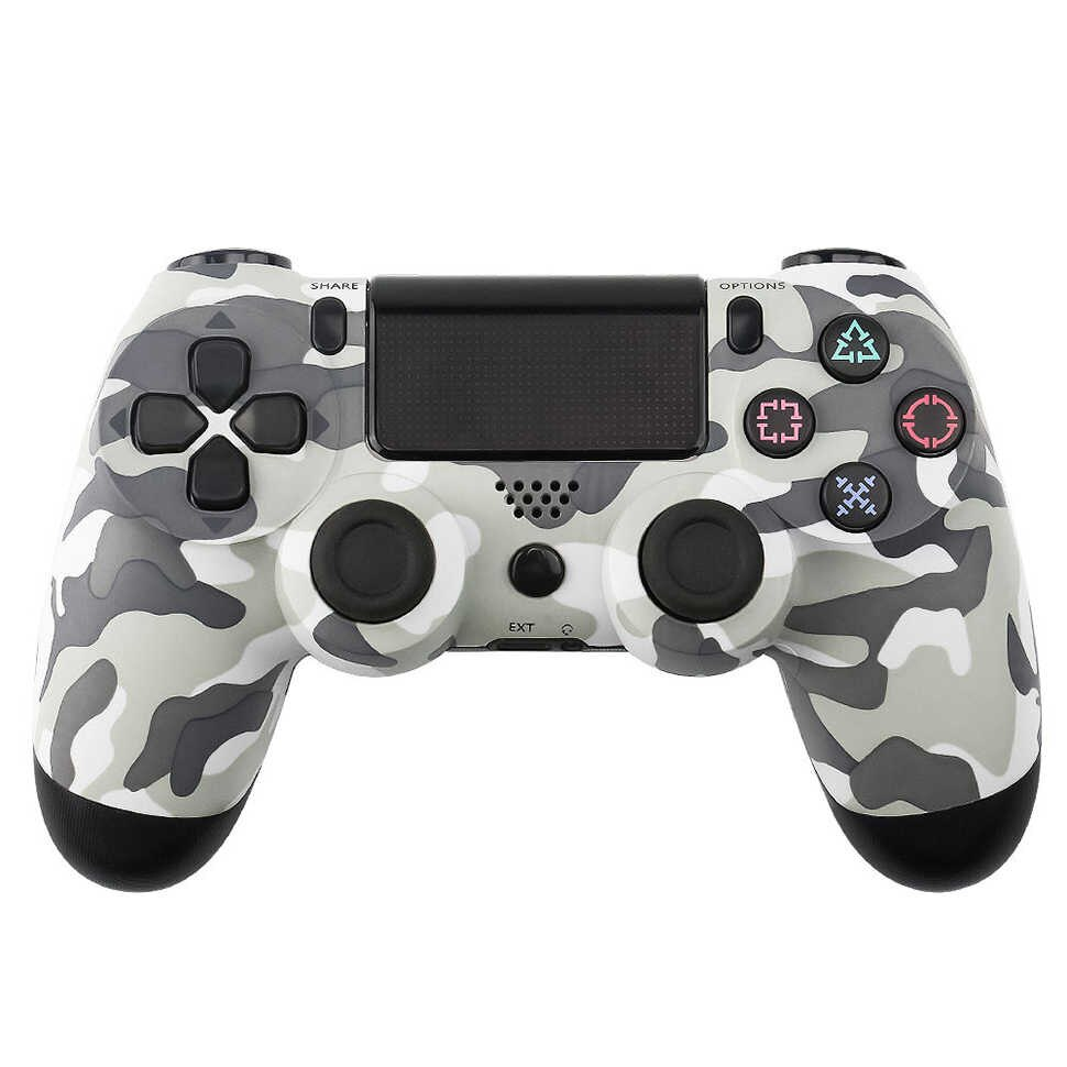 Беспроводной Bluetooth контроллер для Sony Playstation 4 Dualshock Ps4 Серый камуфляж