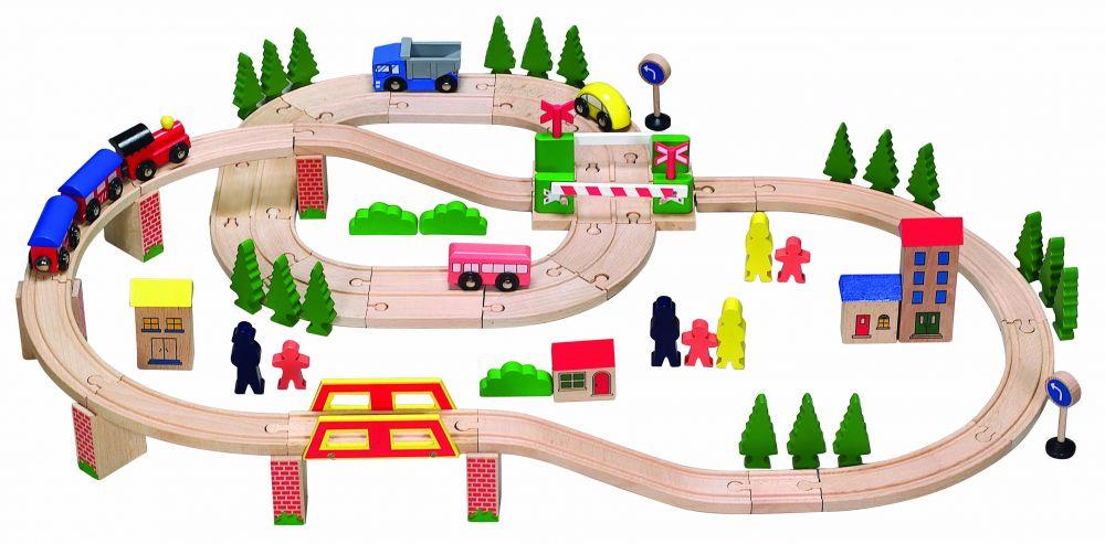 Железная дорога детская Eco Toys HJD93940