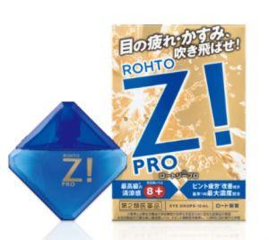 Капли для глаз  Rohto Z! PRO.