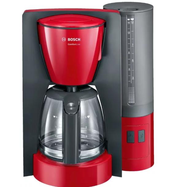 Кофеварка BOSCH TKA6A044 Серый/красный