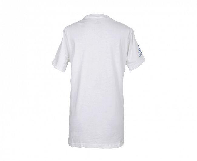 Футболка Adidas Promo Tee бело-голубая, артикул adiTSG2B/V2