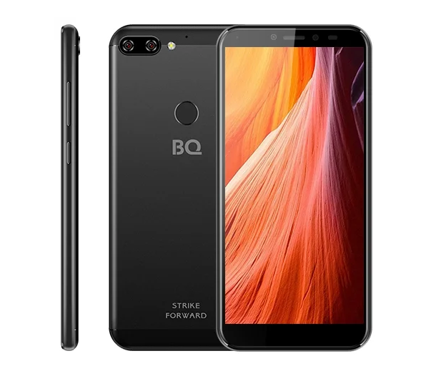 Смартфон BQ 5528L STRIKE FORWARD BLACK