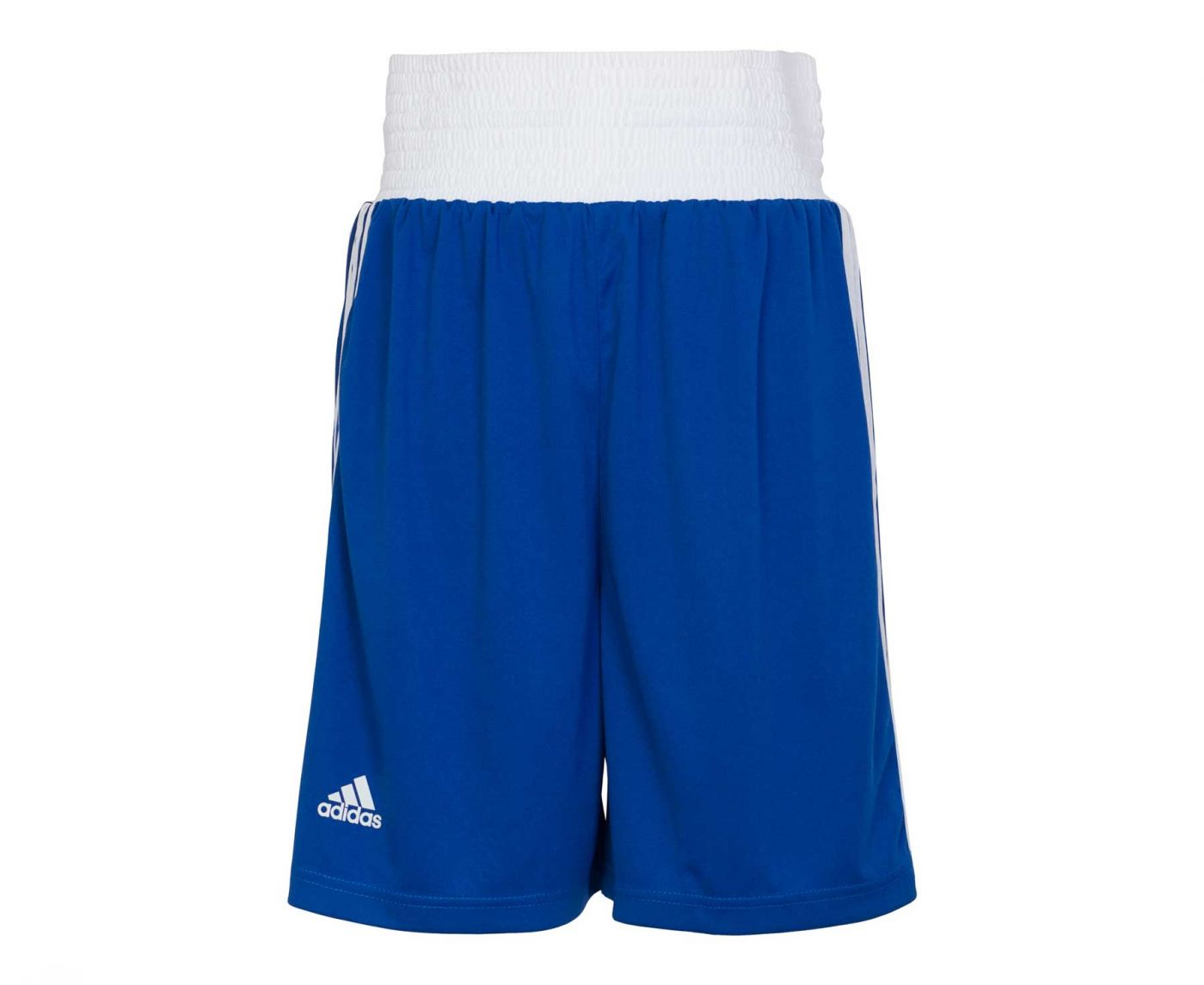 Шорты боксерские Adidas Boxing Short Punch Line синие, артикул adiBTS02