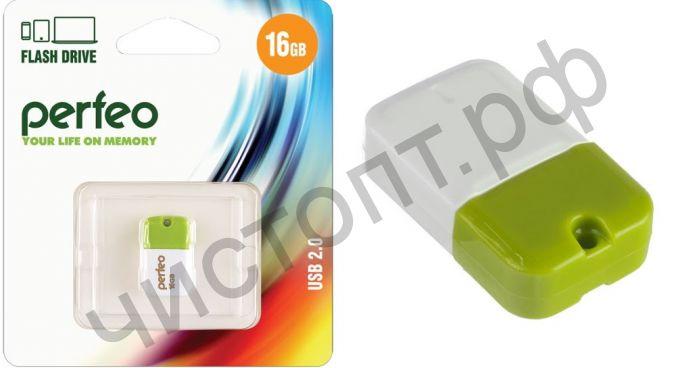 флэш-карта Perfeo 16GB M04 Green зеленый