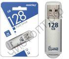 флэш-карта USB 3.0 Smartbuy 128GB V-Cut Silver