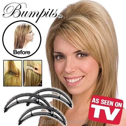 Заколки для придания объема волос Bumpits (Бампитс), 5 шт