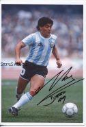 Автограф: Диего Марадона