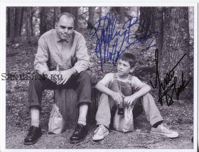 Автографы: Билли Боб Торнтон, Лукас Блэк. Отточенное лезвие