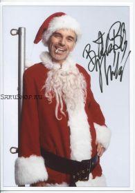 Автограф: Билли Боб Торнтон. Плохой Санта