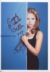 Автограф: Сара Мишель Геллар. Баффи — истребительница вампиров