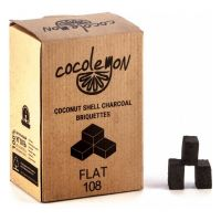 Уголь Coco Lemon Flat (25x25x17 мм, 108 кубиков)