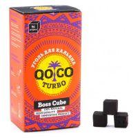 Уголь Qo Coco Turbo - Boss Cube (22x22x22 мм, 96 кубиков)