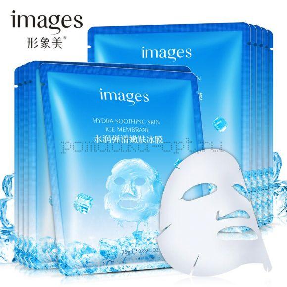 Маска с гиалуроновой кислотой Images Hydra Soothing Skin Ice Membrane Mask ~