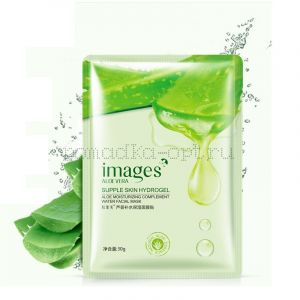 Маска тканевая с экстрактом алоэ вера Images Aloe Vera Supple Skin Hydrogel 30g