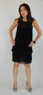 Платье черное 3465