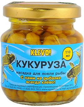 Прикормка Клево Насадка консервированная в асс (кукуруза, перловка)