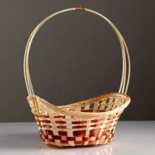Корзина «Ладья», 24×17×8 см, бамбук