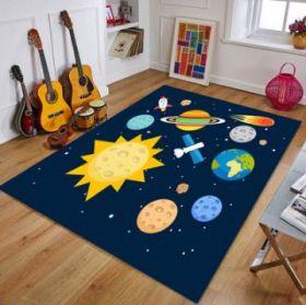 Ковер в детскую комнату Космос 160х80 см