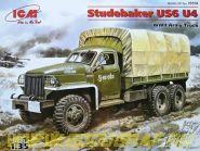 Грузовик Studebaker US6 U4 с тентом, лебедкой