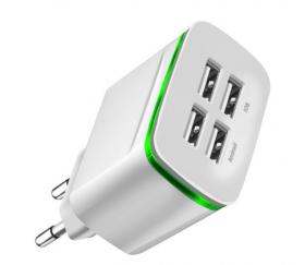 Зарядное устройство Crouch на 4 USB порта (4А)