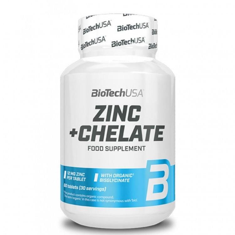 Zinc + Chelate от BioTechUSA 60 таб