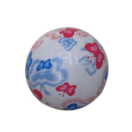 Мяч ПВХ 22 см, 60 гр, бабочки, принт