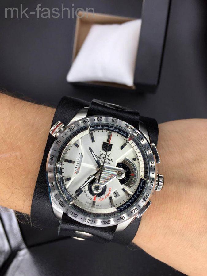 Часы на широком браслете TAG Heuer (Таг Хоер) Carrera