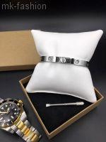 Love Bracelet SILVER фианит