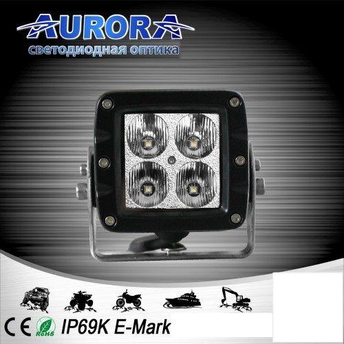 Квадратная светодиодная фара рабочего света 40W ALO-W1-2-E4T