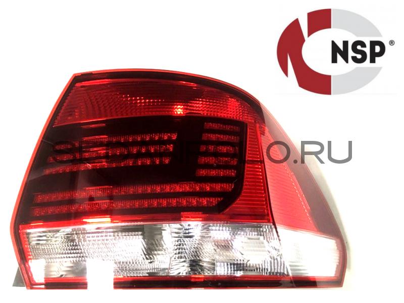 Фонарь задний правый NSP Аналог Volkswagen Polo Sedan Рестайлинг