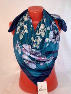 Шелковый платок Valentino, арт 089