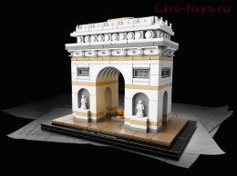 Конструктор LEZI Architecture Триумфальная арка LZ8004 (21036) 2020 дет