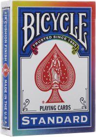 Игральные карты Bicycle Standart (разноцветная рубашка)