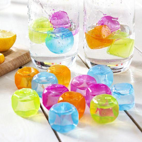 Многоразовый лёд для охлаждения напитков, 10 шт