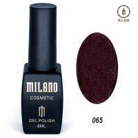 Гель-лак Milano Cosmetic №065, 8 мл