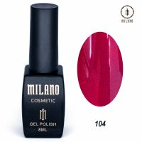 Гель-лак Milano Cosmetic №104, 8 мл