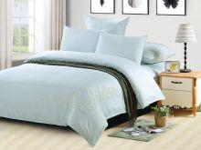 Комплект постельного белья Luxury modal  с вышивкой семейный Арт.41/008-ME