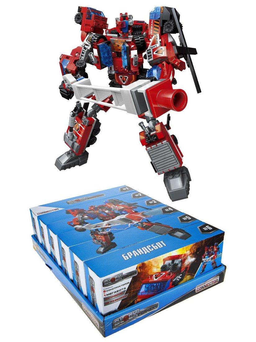 Конструктор Blockformers Брандсбот, в ассорт.
