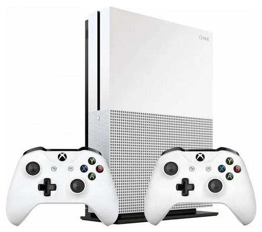 Microsoft Xbox One S 1 ТБ с двумя геймпадами